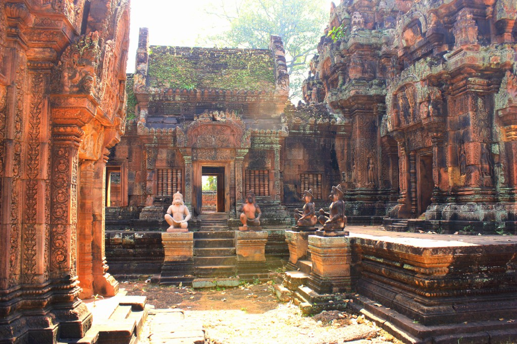 templen i Angkor Wat