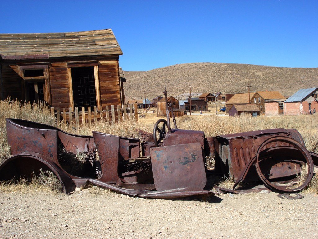 bodie ghost town in Kalifornia - favoritländer