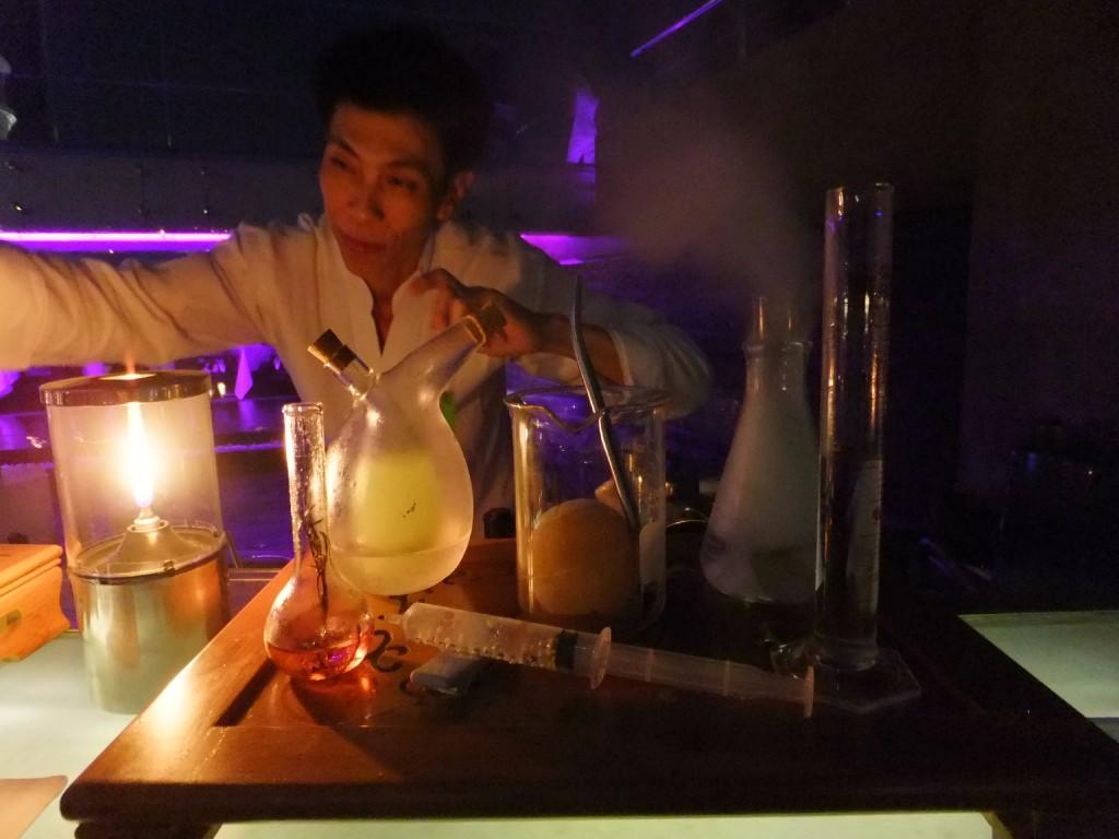 Tower club at Lebua hotel i Bangkok