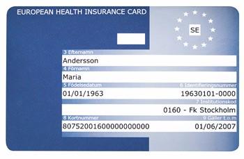 eu-kort_sjukforsakringskort olycka på resan
