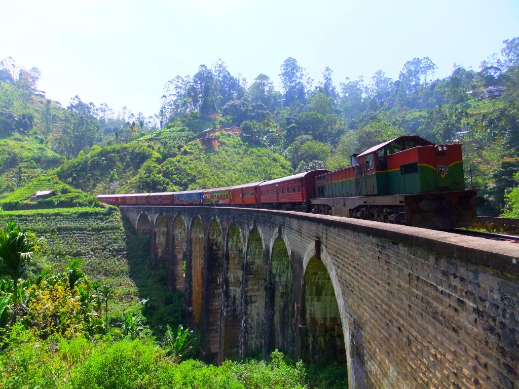 Vandring på Sri Lanka