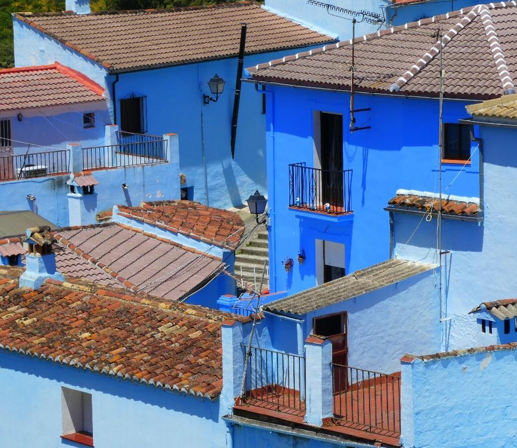 färgglada städer Juzcar