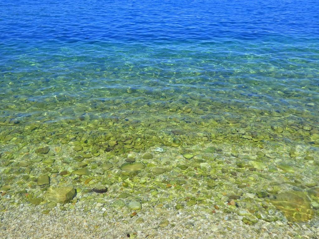 Havet klarnar mycket riktigt.
