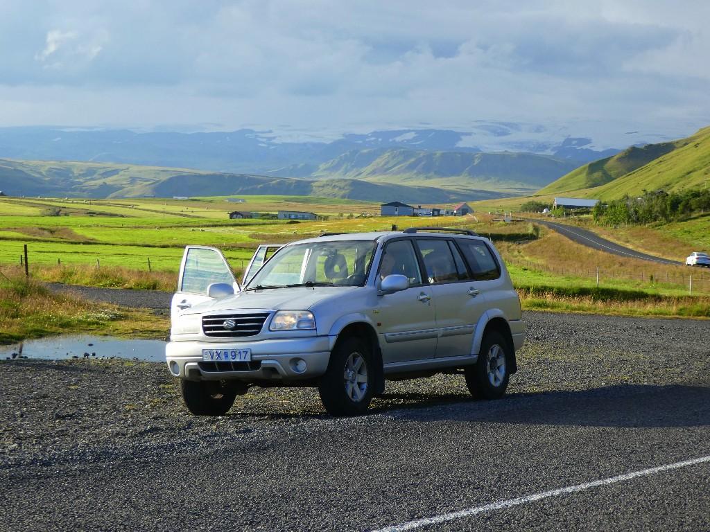 Att hyra bil på Island