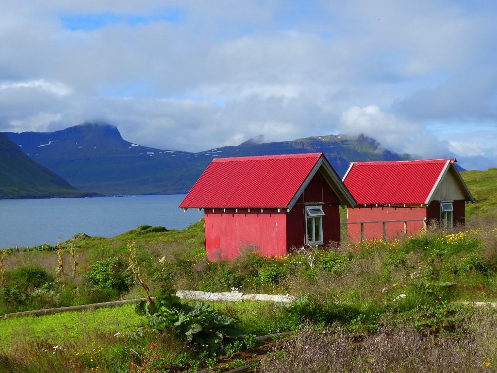Skalanes utanför Seydisfjordur – om konsten att fånga en dag