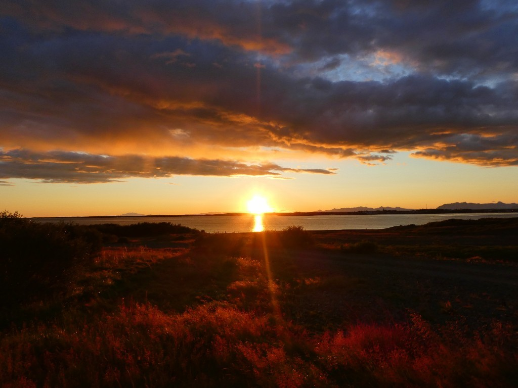 sommarens vackraste solnedgång