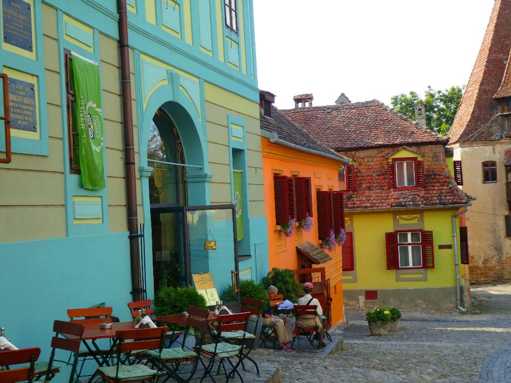 Skönheten och odjuret – Sighisoara och Bukarest