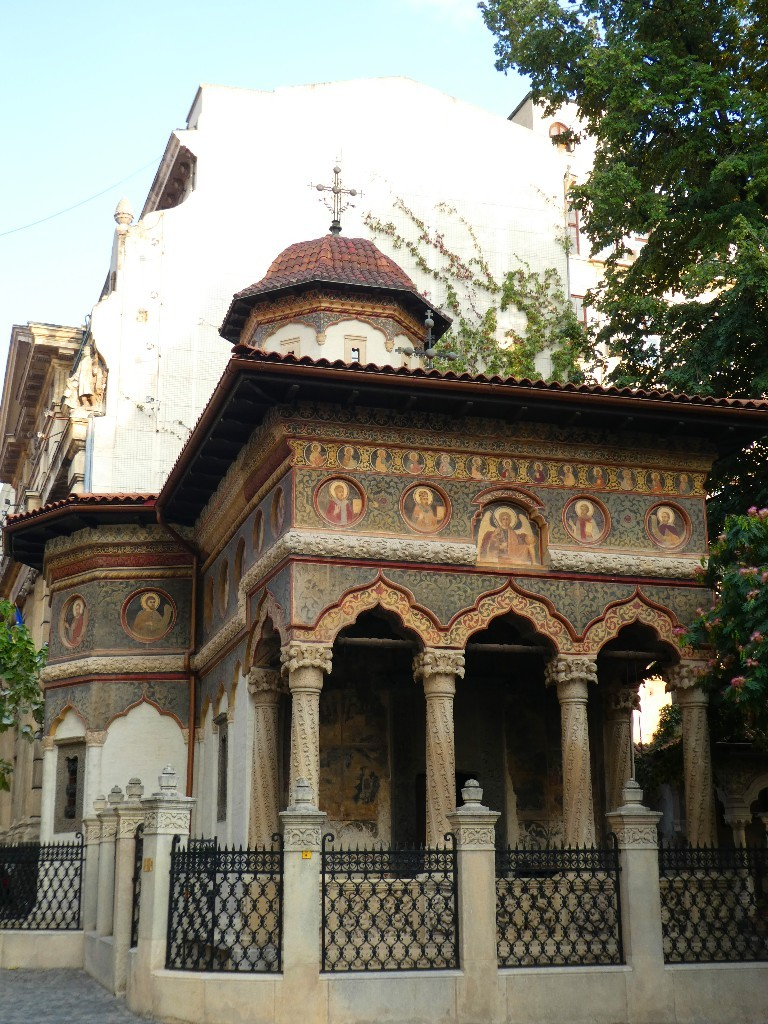 Sighisoara och Bukarest