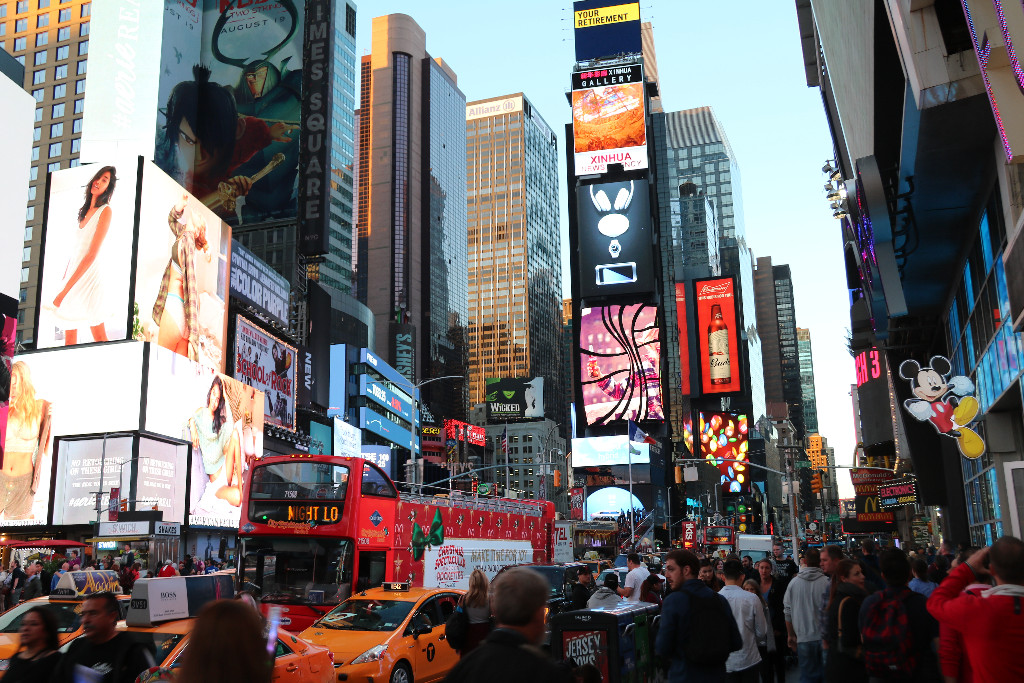 New York med tonåring