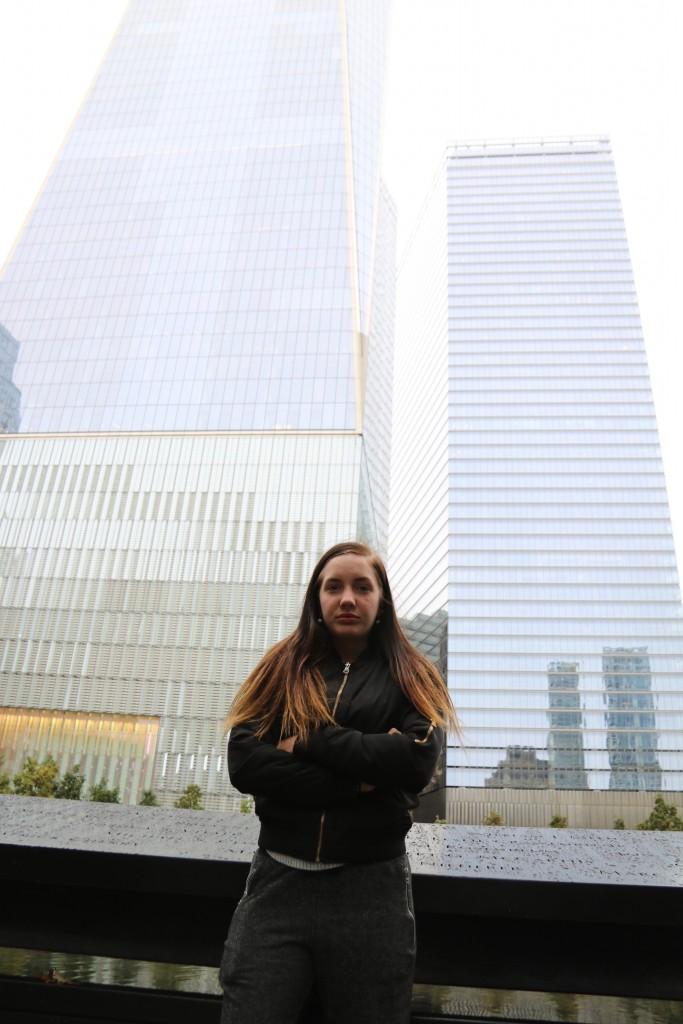 Manhattan med en tonårstjej