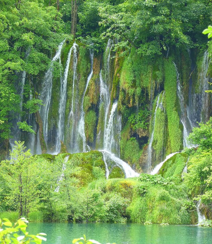 Plitvice National Park, Kroatien