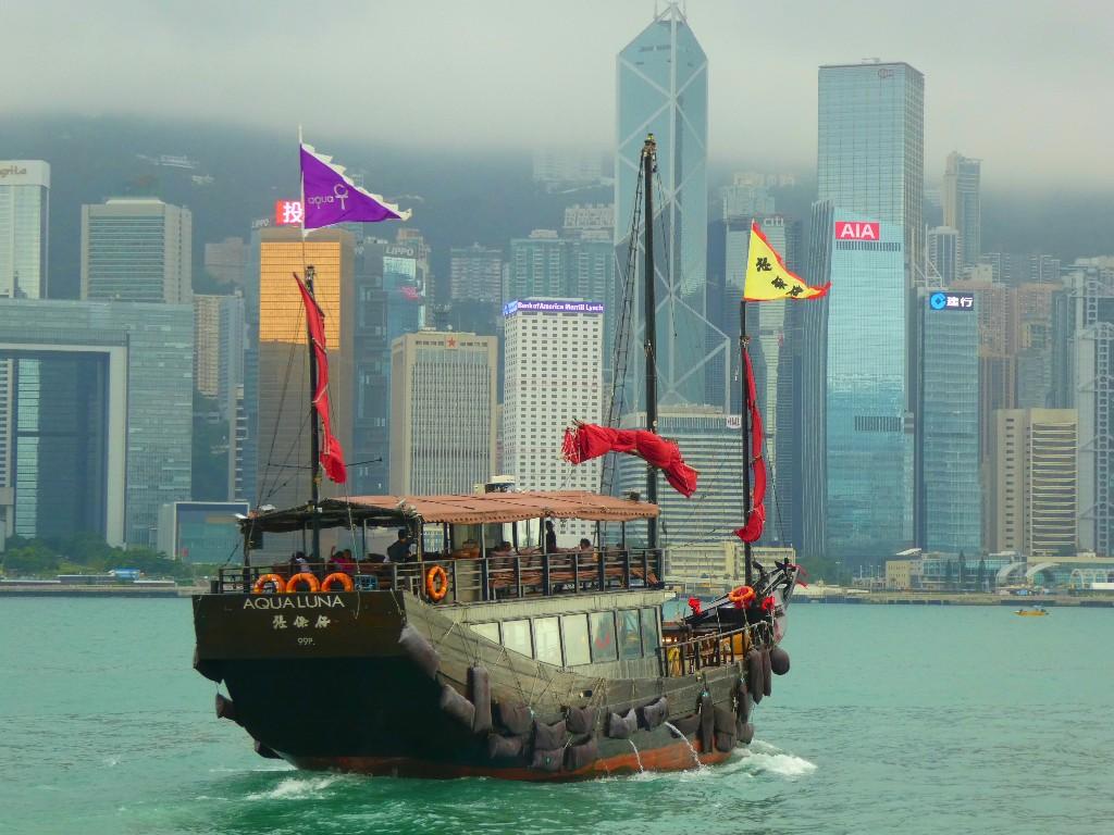 resa till Hong Kong