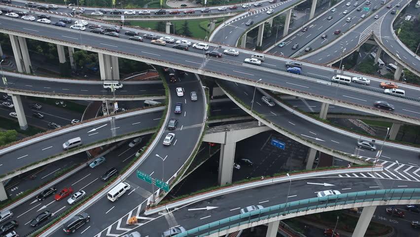 shanghai-trafik Asiens bästa storstäder