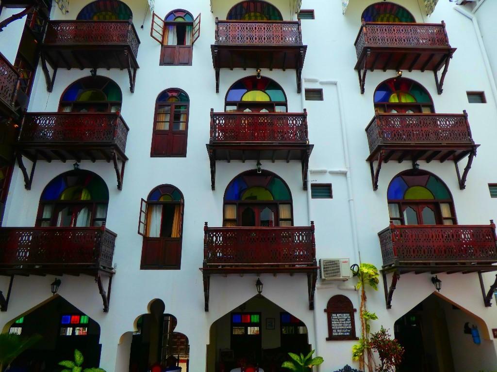 hotell på Zanzibar