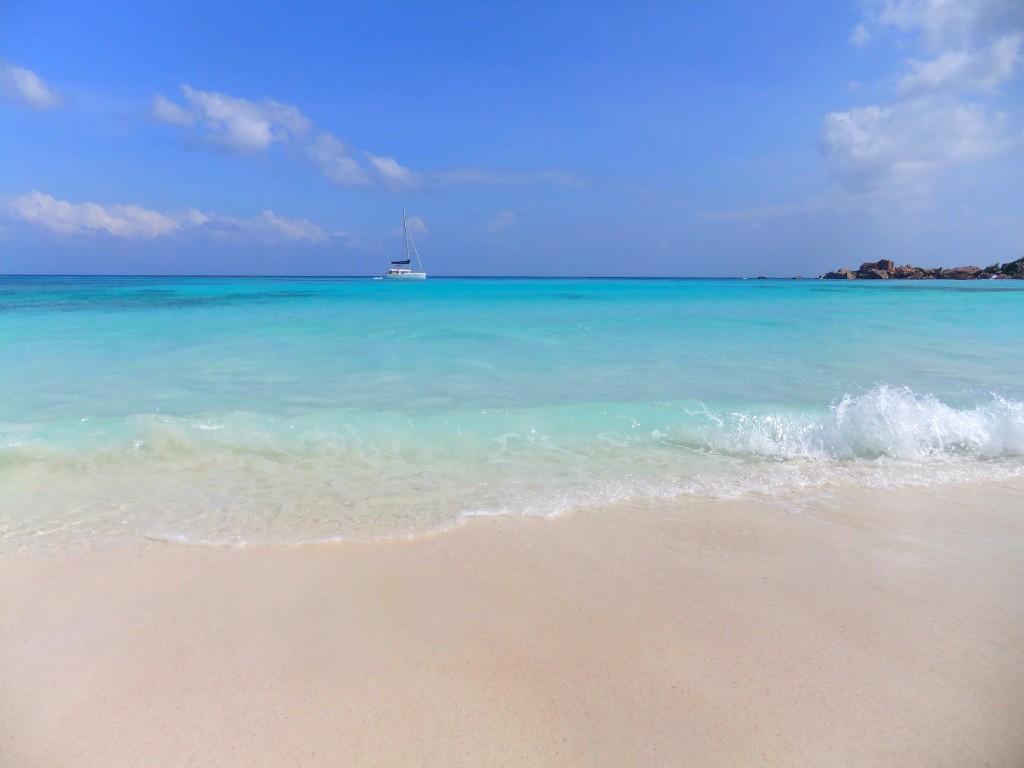 Seychellerna eller Zanzibar? La Digue, Seychellerna