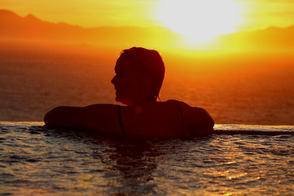 Wow, inga problem att vara i nuet under de Sydafrikanska solnedgångarna.