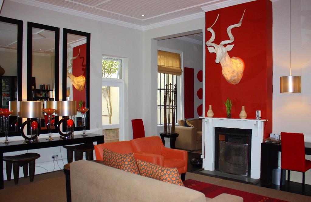 guesthouses i Kapstaden An african villa