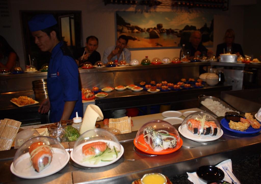 middagsstopp i Kapstaden
