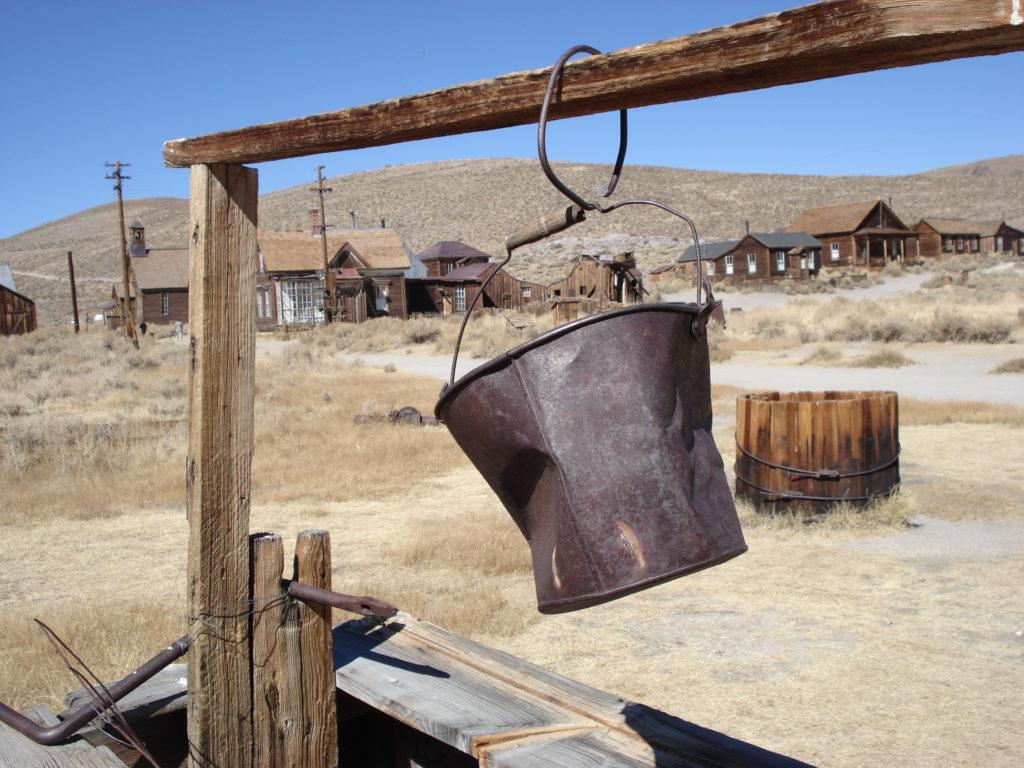 roadtrip i Kalifornien - bodie gost town
