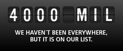 4000 mil - en reseblogg