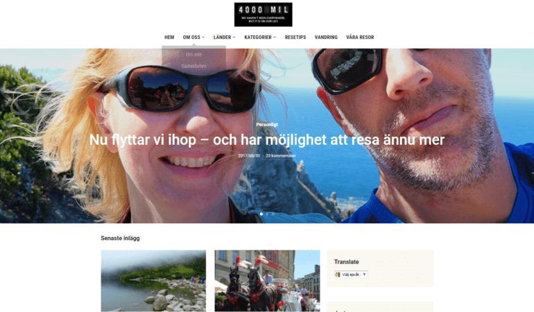 Nytt utseende på bloggen – premiär idag