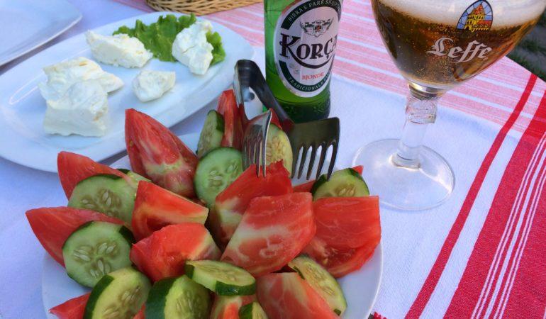 Maten i Albanien och vad vi tyckte om den