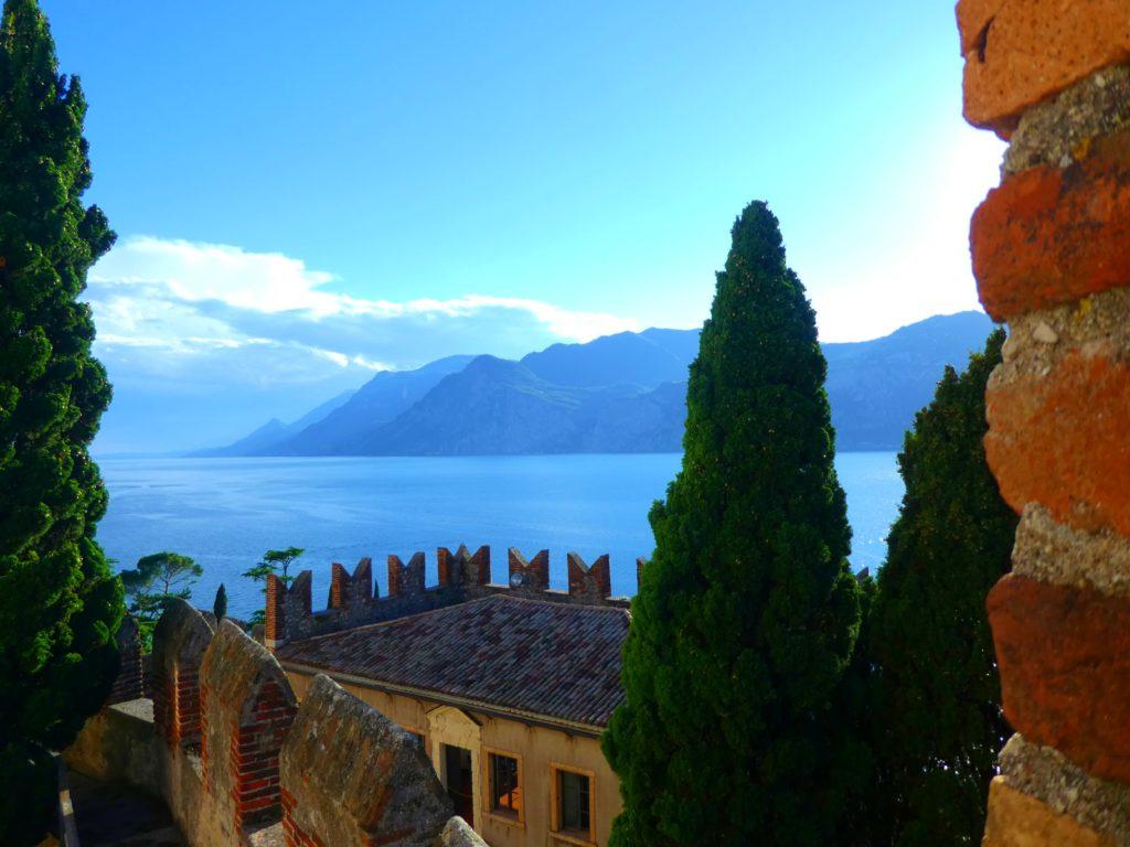 Gardasjön och Venedig: Malcesine