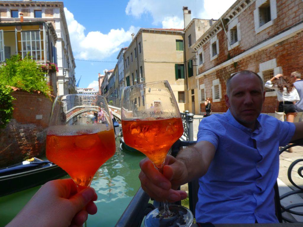 resebloggare i Venedig