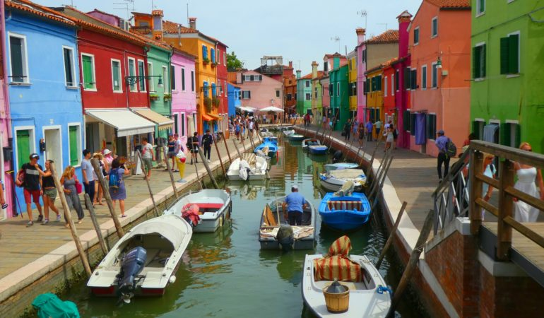 Burano utanför Venedig – in the name of Instagram
