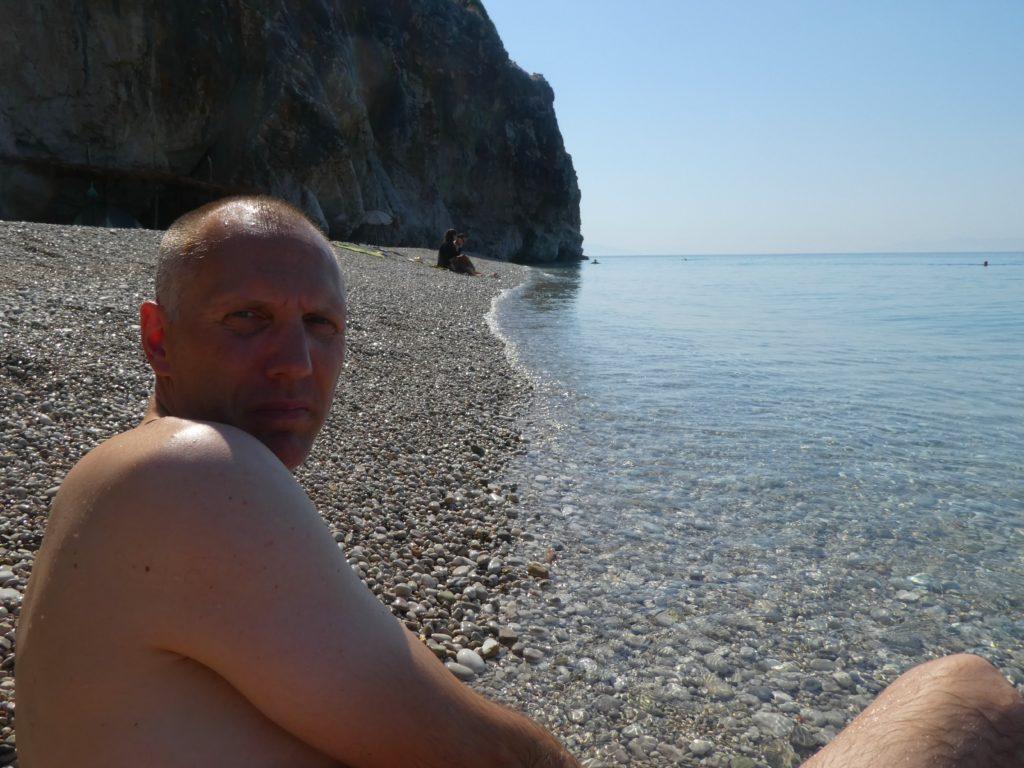 Albaniens bästa stränder - gjipe beach