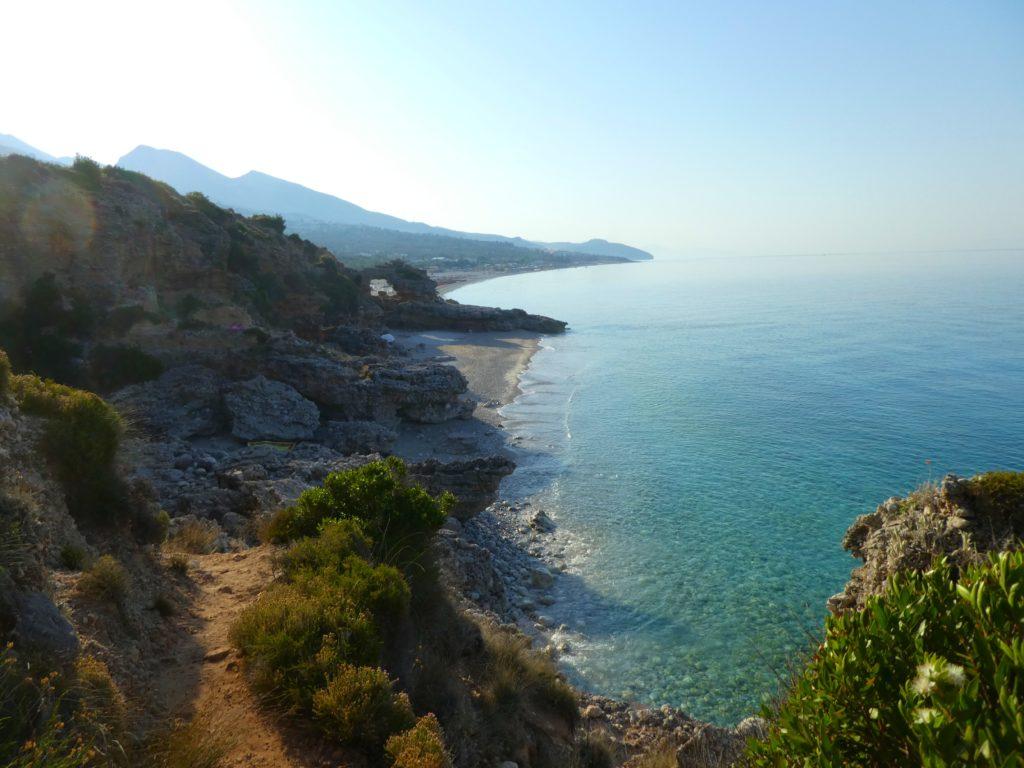 Albaniens bästa stränder - drymades beach
