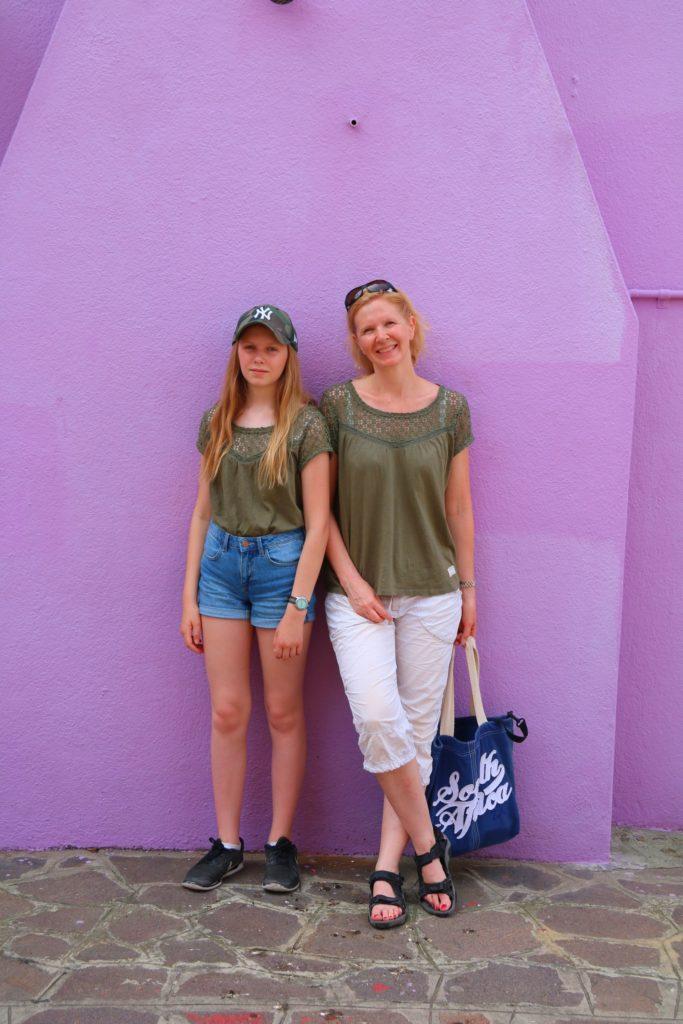 Gardasjön och Venedig: vi i Burano