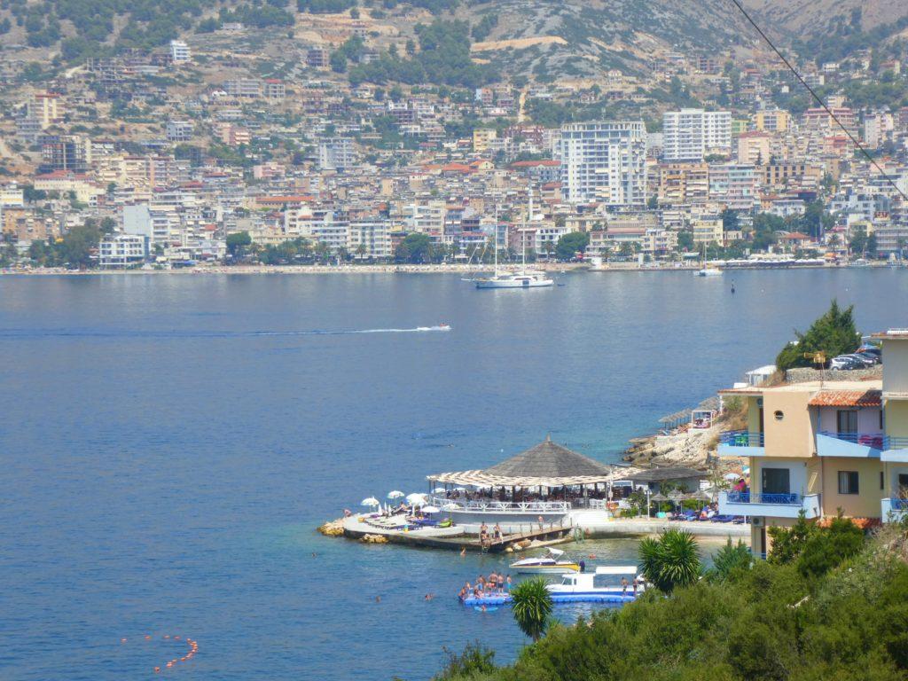 Albaniens bästa stränder - saranda är inte en av dem
