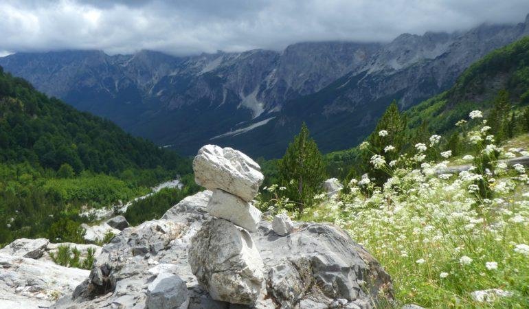 Vår vandring från Valbona till Theth i Albanska Alperna