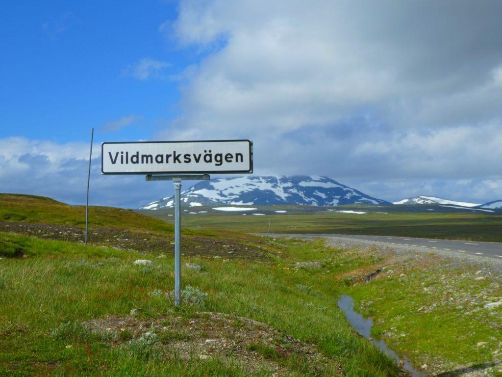 Världens vackraste vägar vildmarksvägen