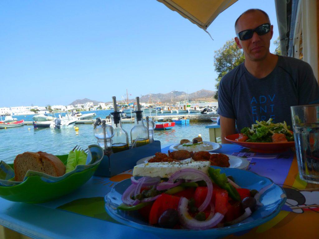 Mat i Grekland