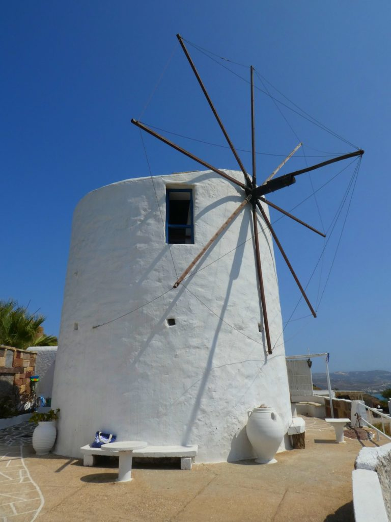 Vaos Windmill på Milos