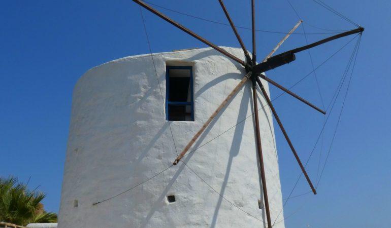 Vaos Windmill på Milos – ett av våra allra bästa boenden någonsin!