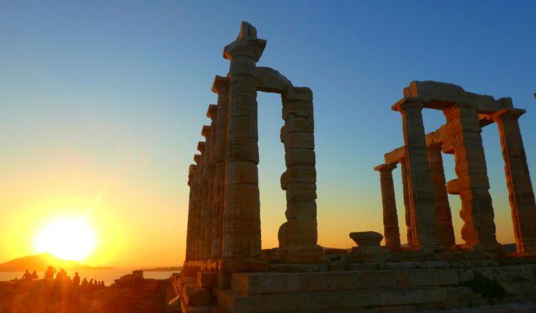 Alla dessa fantastiska grekiska solnedgångar – hur ska man orka så mycket skönhet?