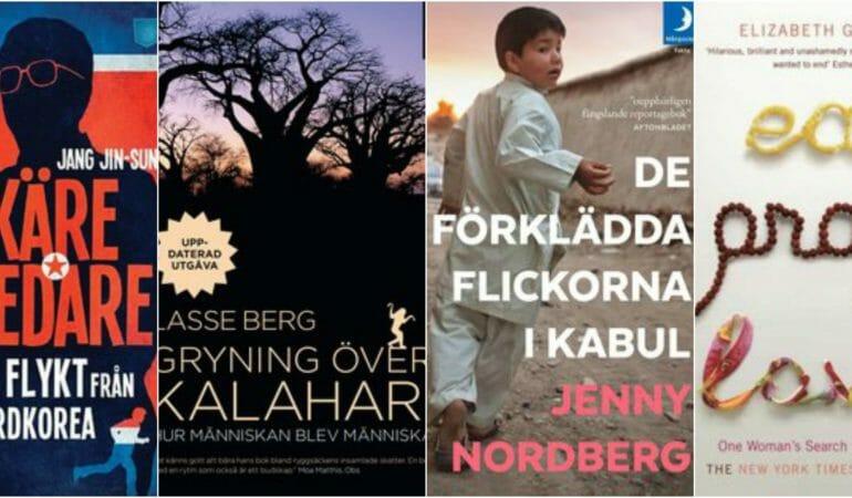 Böcker som inspirerar till resa