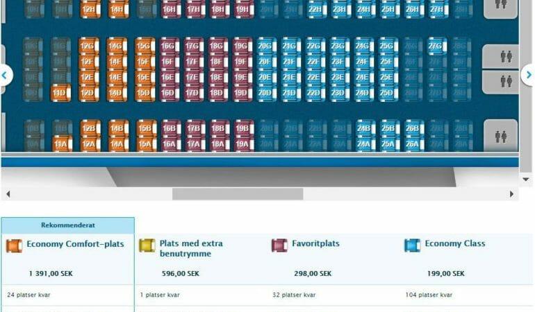 Betala extra för platsbokning på flyget – hur tänker man runt det? (och så här blev det för oss)