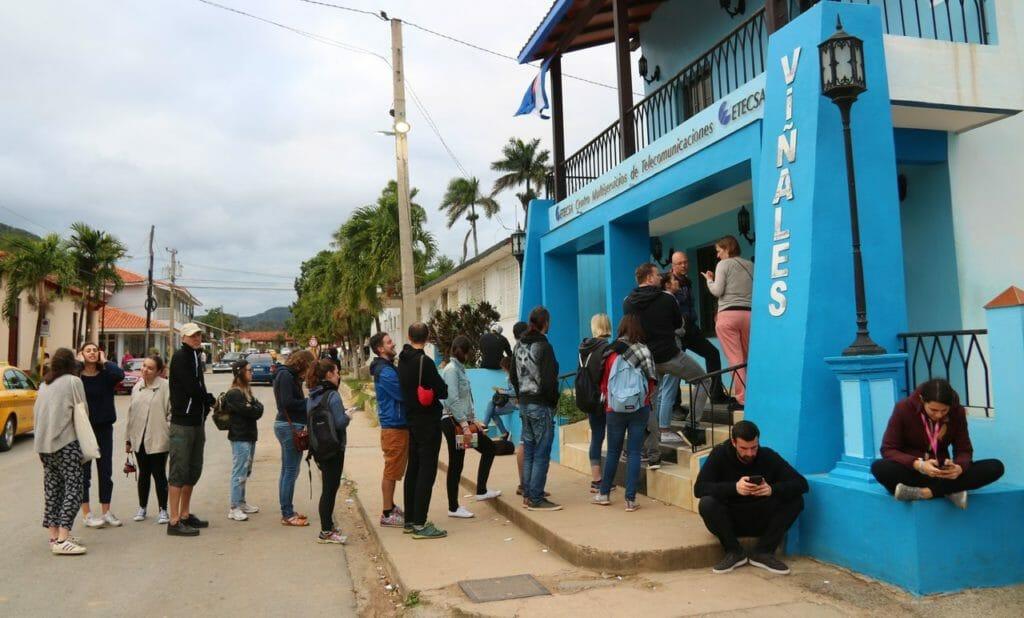 internet på Kuba