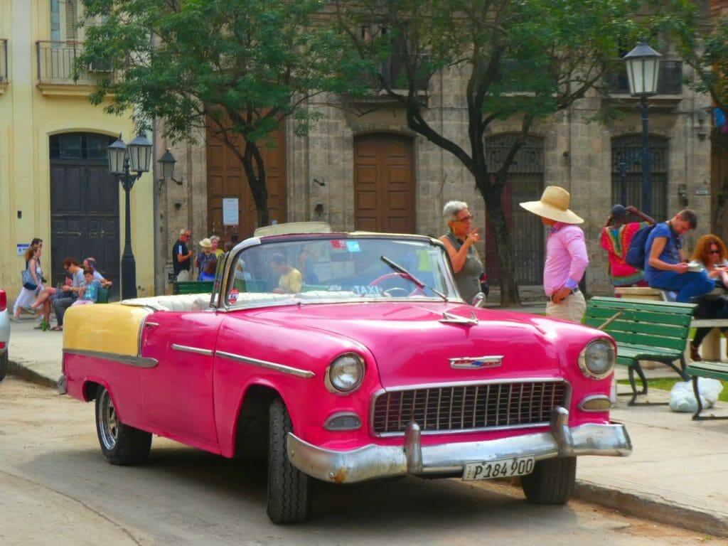 inför resan till Kuba