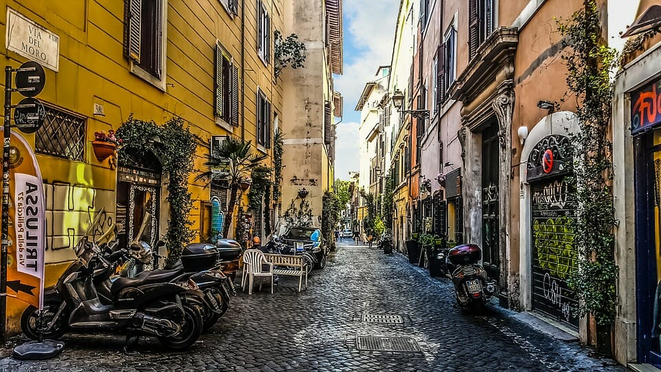 Var ska man bo i Rom