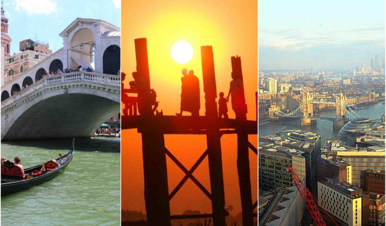 Världens vackraste broar – här är våra 10 favoriter