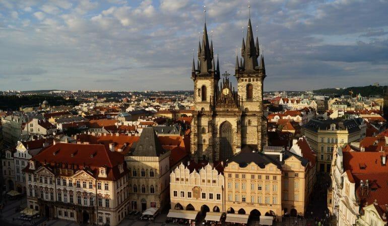 Nu åker vi till Prag