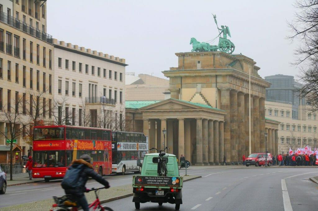 Berlin - annan bild av ett resmål
