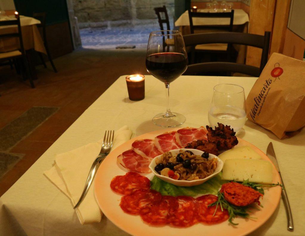 Mat i Kalabrien