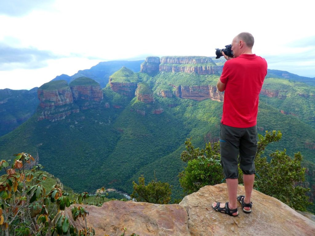 Panorama Route och Blyde River Canyon