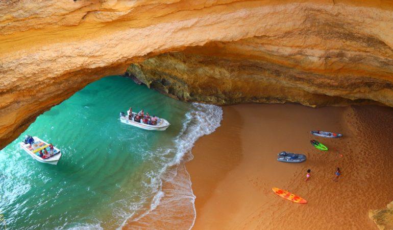 Algarve - en plats där det är varmt ända in i november